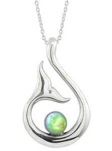 LeightWorks Whale's Tail Pendant - Green
