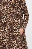 Wild Side Leopard Dress  FINAL SALE