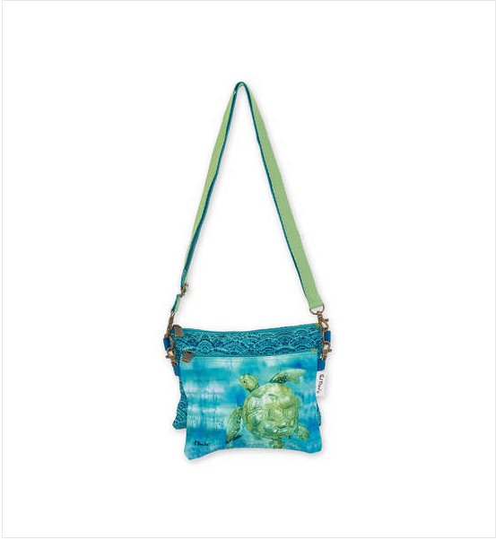 Painting Turtles Two Piece Crossbody