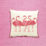 Flamingo Accent Pillow