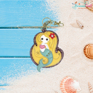 Mermaid Key FOB / Coin Purse