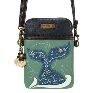 Dazzled Mermaid Tail Cell Phone Crossbody