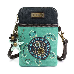 Dazzled Turtle Cell Phone Crossbody