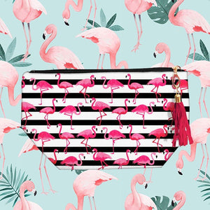 Flamingo Accessory Bag
