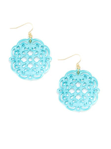 Allure Resin Drop Earring