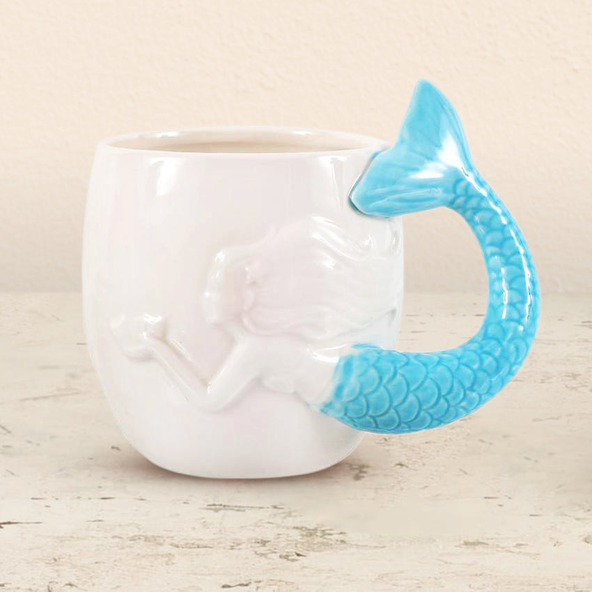 Mermaid  Handle Mug