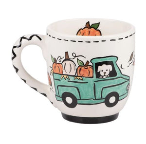 Fall Breeze Autumn Leaves Mug