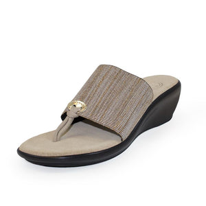 Hilton Wedge Sandal