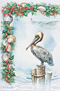Greeting Card - Pelican Pier