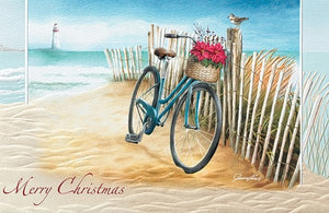 Greeting Card - Beach Bike
