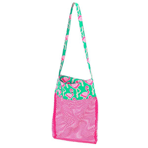 Flamingle Mesh Tote