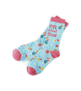 On Island Time Socks