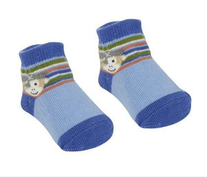 Pete the Pirate Monkey Socks
