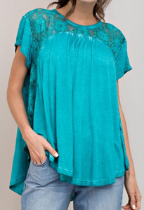 Lace Julep Top