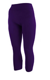 One Size Capri Leggings - Wide Band