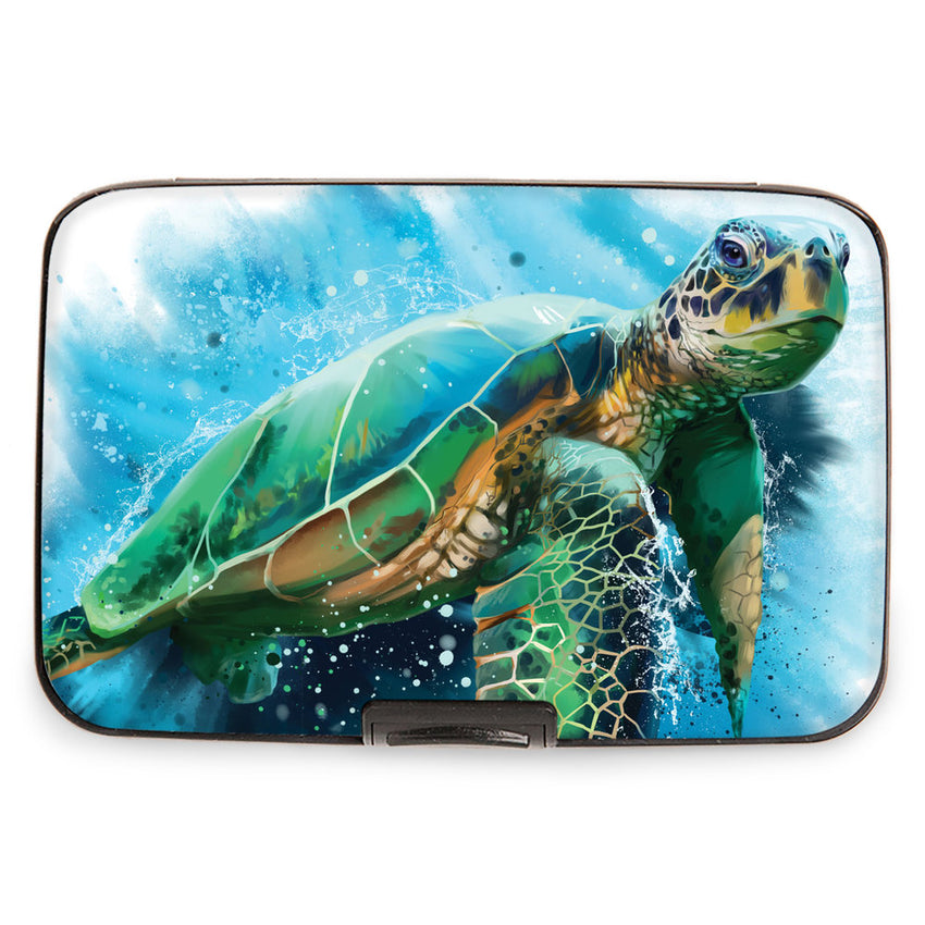 Sea Turtle Armored Wallet