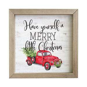 Little Christmas Rustic Frame