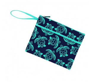 Totally Turtle Zip Pouch Wristlet