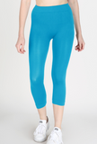 One Size Capri Leggings - Narrow Band