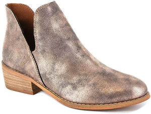 Wayland Bootie Bronze FINAL SALE