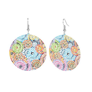 Circle Whimsy Earrings