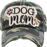 Dog Mom Vintage Hat - Available in 4 Colors