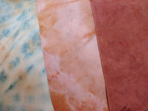 Botanical dyed Heirloom bandana