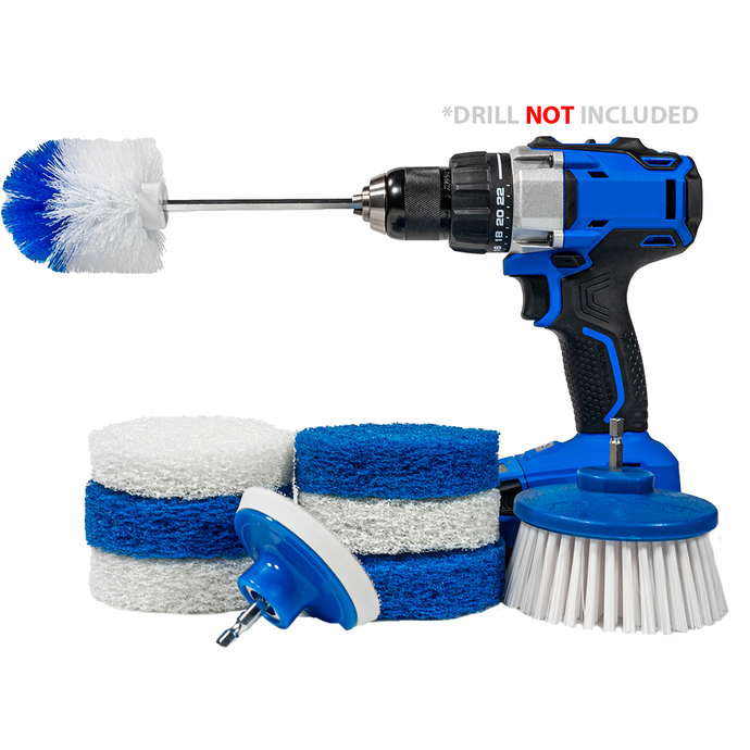 RotoScrub Complete Home Cleaning Combo Kit