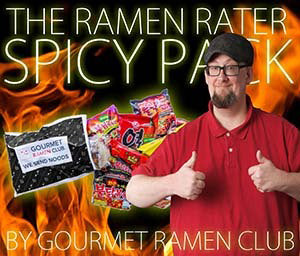 Spicy Pack endorsed by The Ramen Rater