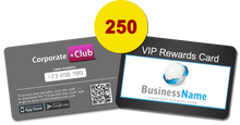 250 Corporate+Club Cards