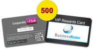 500 Corporate+Club Cards