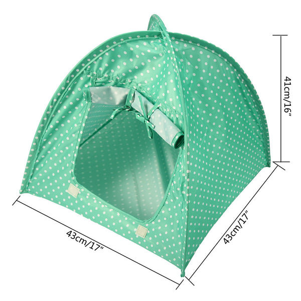 Portable Polka Dots Cat Tent