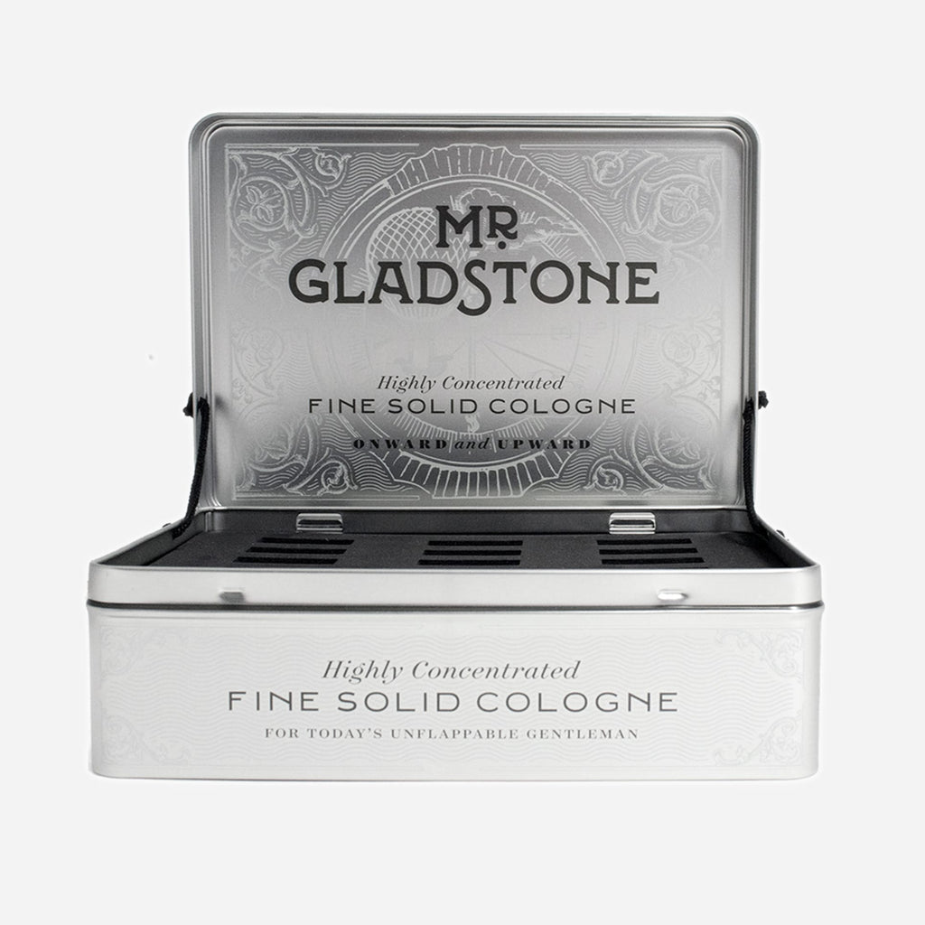 Mr. Gladstone Empty Retail Display Tin - Display Only