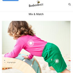 Beeboobuzz mix and match feature
