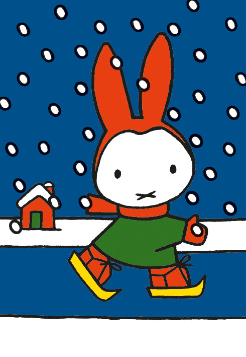 Miffy 20 Christmas Cards With Envelopes Cube - Bee's Emporium