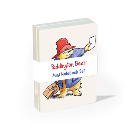 Paddington Bear 3 Mini Notebooks Set