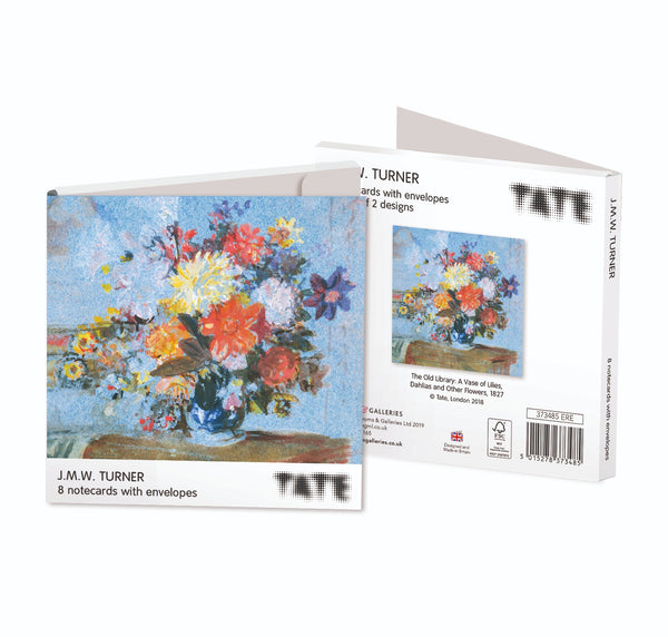 Tate J.M.W. Turner 8 Notecards with Envelopes