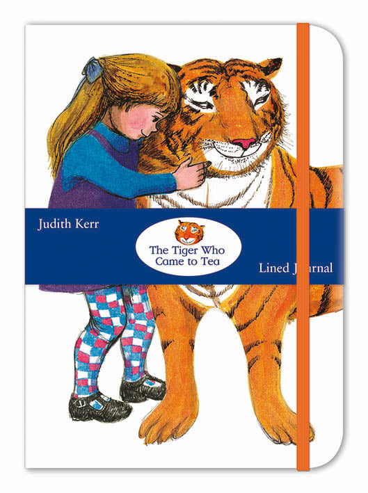 The Tiger Who Came to Tea Lined Journal - Bee's Emporium