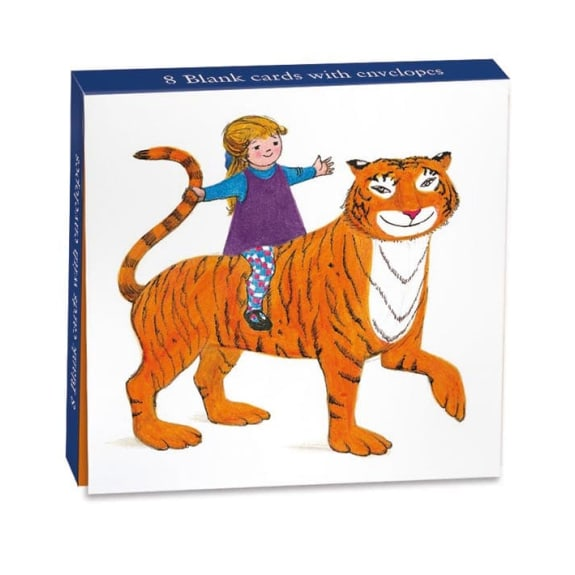The Tiger Who Came to Tea 8 Mini Notecards Wallet