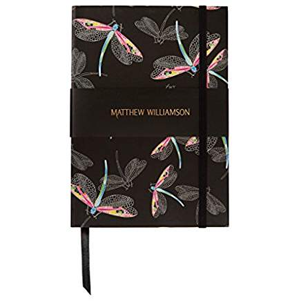 Matthew Williamson Dragonflies Luxury Notebook - Bee's Emporium