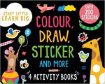 Colour, Draw, Sticker and More Activity Pack - Bee's Emporium