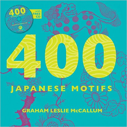 400 Japanese Motifs Book & CD by Graham McCallum - Bee's Emporium