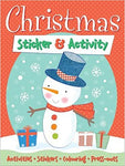 Christmas Sticker & Activity Book - Bee's Emporium