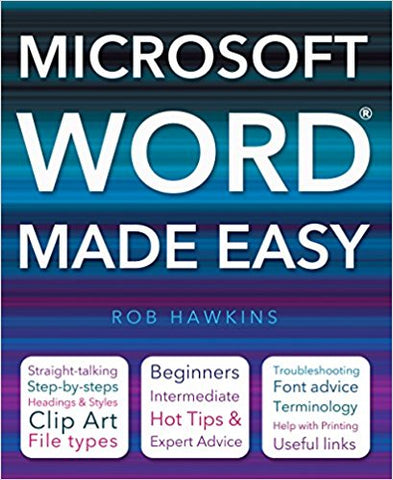 Microsoft Word Made Easy by Rob Hawkins - Bee's Emporium