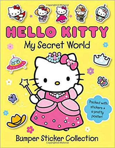 Hello Kitty My Secret World : Bumper Sticker Collection
