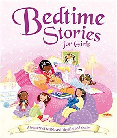 Bedtime Stories for Girls: A Treasury of Well-loved Fairytales and Stories - Bee's Emporium