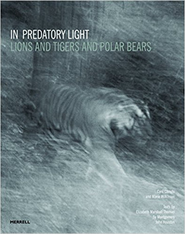 In Predatory Light: Lions and Tigers and Polar Bears [Hardcover] [Sep 30, 2013] Cyril Christo; Marie Wilkinson; Elizabeth Marshall Thomas; Sy Montgomery and John Houston - Bee's Emporium
