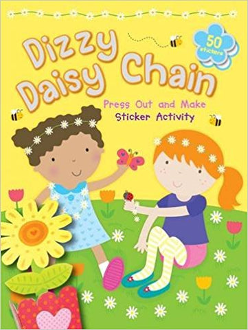 Dizzy Daisy Chain (Press Out and Make) - Bee's Emporium