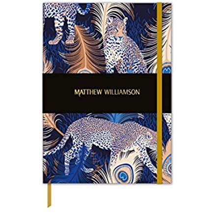 Matthew Williamson Leopards Luxury Notebook - Bee's Emporium