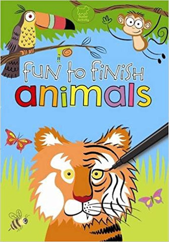 Fun to Finish Animals by Buster Books ( Author ) ON Oct-06-2011, Paperback [Paperback] [Oct 06, 2011] Buster Books - Bee's Emporium